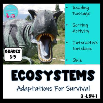 ECOSYSTEMS - ADAPTATIONS FOR SURVIVAL MINI-UNIT