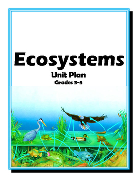 ECOSYSTEMS Unit Plan (Hands-On Inquiry-Experiment-Foldable