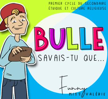 ECR - Bulle Savais-tu que...