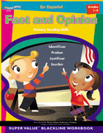 Fact and Opinion: Spanish Version (Grades 1-3)