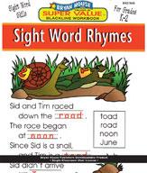 Sight Word Rhymes