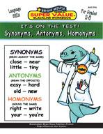 Synonyms, Antonyms, Homonyms (Grades 2-3)