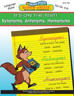 Synonyms, Antonyms, Homonyms (Grades 4-5)