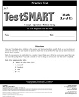 TestSMART Practice Test, Math, Grade 5 (Level E)