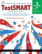 TestSMART Student Practice Book, Language Arts, Grade 3