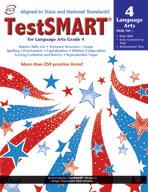 TestSMART Student Practice Book, Language Arts, Grade 4