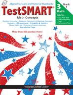TestSMART Student Practice Book, Math Concepts, Grade 3