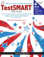 TestSMART Student Practice Book, Math Concepts, Grade 4