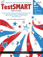 TestSMART Student Practice Book, Math Concepts, Grade 8