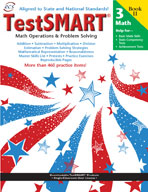 TestSMART Student Practice Book, Math Operations and Problem Solving, Grade 3