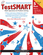TestSMART Student Practice Book, Math Operations and Problem Solving, Grade 5