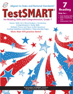 TestSMART Student Practice Book, Reading, Grade 7