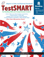 TestSMART Student Practice Book, Reading, Grade 8
