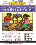 Word Endings in Context