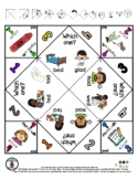 ED & AD - Rhyming Word Pictures - Cootie Catcher Fortune T