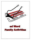 ED WORD FAMILY ACTIVITIES