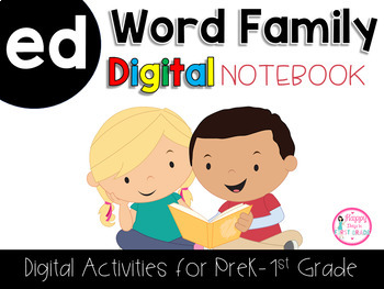 ED Word Family Digital Notebook