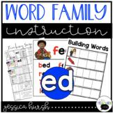 ED Word Family Instruction