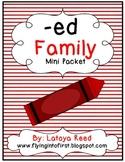 ED Word Family Mini Pack