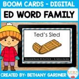 ED Word Family - Short E Decodable Reader - Boom Cards - I
