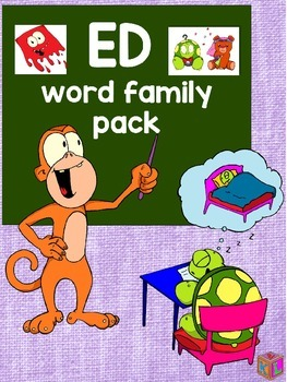 ED word family pack