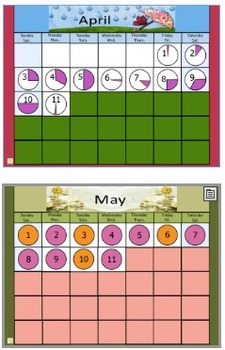 Calendar Fun 5th Grade Flipchart Full Year 2015-2016