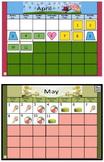 Calendar Fun Flipchart 3rd Grade Full Year 2015-2016