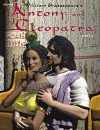 Easy Reading Shakespeare: Antony and Cleopatra (Grade 4 Reading Level) (Enhanced eBook)