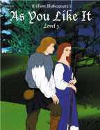 Easy Reading Shakespeare: As You Like It (Grade 3 Reading Level) (Enhanced eBook)