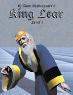 Easy Reading Shakespeare: King Lear (Grade 5 Reading Level) (Enhanced eBook)
