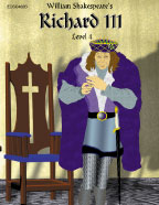 Easy Reading Shakespeare: King Richard III (Grade 4 Reading Level) (Enhanced eBook)
