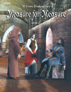 Easy Reading Shakespeare: Measure For Measure (Grade 2 Reading Level) (Enhanced eBook)