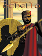 Easy Reading Shakespeare: Othello (Grade 5 Reading Level) (Enhanced eBook)