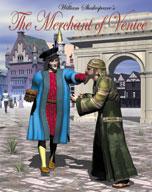 Easy Reading Shakespeare: The Merchant of Venice (Grade 3 Reading Level) (Enhanced eBook)