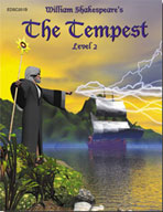 Easy Reading Shakespeare: The Tempest (Grade 2 Reading Lev