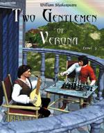 Easy Reading Shakespeare: Two Gentlemen of Verona (Grade 3 Reading Level) (Enhanced eBook)