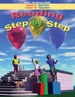 Reading Step by Step Unit 1: Readiness Skills (Lessons 9 and 10)