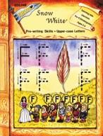 Snow White - Pre-writing skills, Upper-case Letters