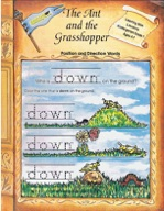 The Ant and the Grasshopper - Position and Direction Words