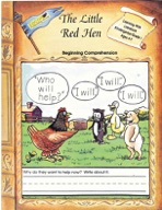 The Little Red Hen - Beginning Comprehension