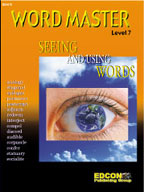 Word Master: Seeing and Using Words (Level 7)