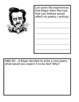 edgar allan poe life affected his writing