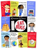 EDIBLE INSECTS EDUCATIONAL POSTER (FULL COLOR)