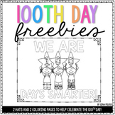100th Day of School Activities {FREE}