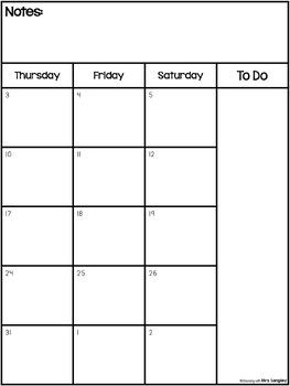 EDITABLE 2016-2017 School Calendar