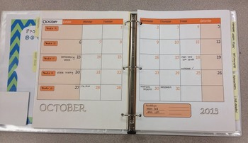 EDITABLE 2015-16 School Calendars