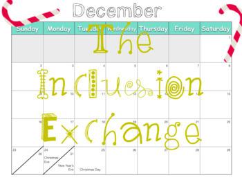 EDITABLE 2018 Calendar Art Project