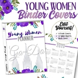 EDITABLE 2020 Young Women Binder Covers (Go and Do) - INST