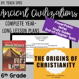 COMPLETE, EDITABLE 6th Grade YEAR LONG Social Studies Lessons