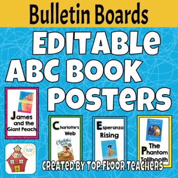 EDITABLE ABC Book Posters